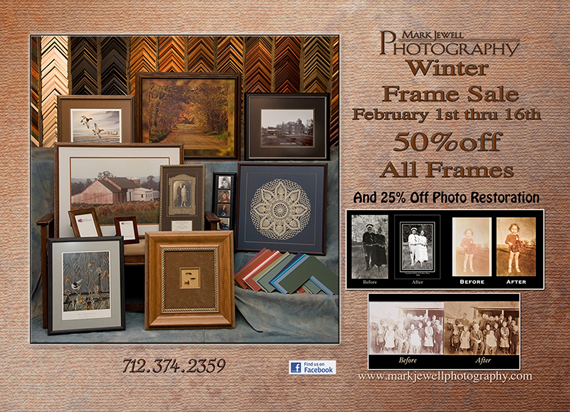 Mark Jewell Photography Winter Frame Sale